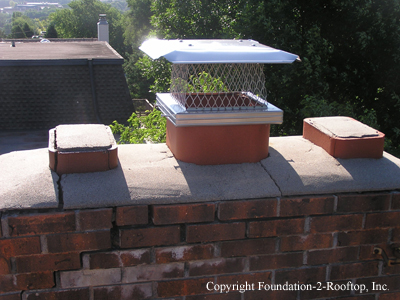 New chimney cap, but what about all of the other problems with the chimney?