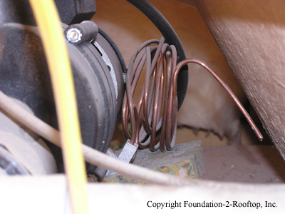 Jetted tub pump motor never had its bond wire hooked up.