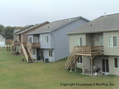 Whoever is building these decks in this development needs to go back to school.