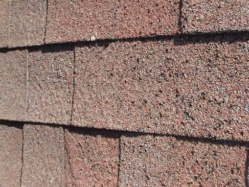 Roof Inspection: Blistering on shingles