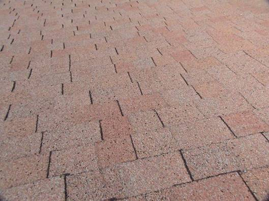 Roof Inspection: Blistering on Entire Side of Roof