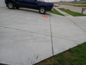 New Construction Inspection: Steep Driveway Slope
