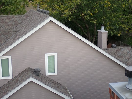 Turbine Exhaust Roof Vents (Omaha Home Inspection)