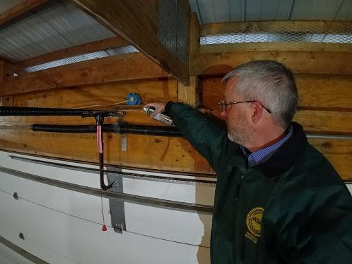 2020-10-28 Garage Door Maintenance (Omaha Home Inspection)