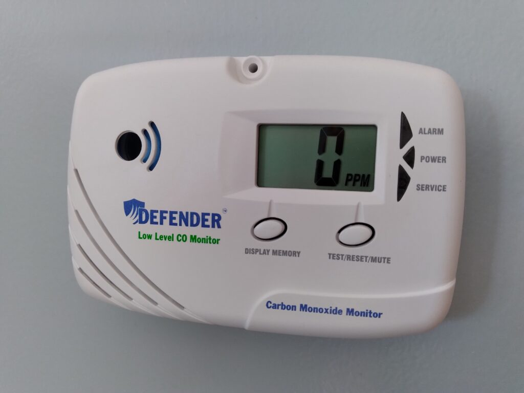 Low Level Carbon Monoxide Detectors